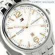 トミー ヒルフィガー クオーツ メンズ 腕時計 1710313 TOMMY HILFIGER ホワイト【あす楽対応】