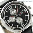 トミー ヒルフィガー マルチカレンダー メンズ 腕時計 1710335 TOMMY HILFIGER クオーツ ブラック