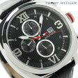 トミー ヒルフィガー マルチカレンダー メンズ 腕時計 1790967 TOMMY HILFIGER クオーツ ブラック