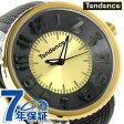 テンデンス フラッシュ LEDバックライト TG530006 TENDENCE 腕時計 クオーツ ゴールド×ブラック
