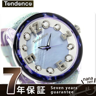 Ten dance charm natural Aqua TGF37101 TENDENCE watch quartz movement brushed