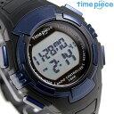 タイムピース 電波ソーラー デュアルパワー メンズ 腕時計 TPW-002BL ブルー
