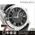 ティファニー アトラス ジェント 42mm 自動巻き メンズ 腕時計 Z1000.70.12A10A71A TIFFANY&Co. ブラック アリゲーターレザー 新品
