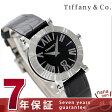 ティファニー アトラス 30mm レディース 腕時計 Z1300.11.11A10A71A TIFFANY&Co. クオーツ ブラック アリゲーターレザー 新品