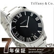 ティファニー アトラス ドーム メンズ 腕時計 Z1800.11.10A10A00A TIFFANY&Co. クオーツ ブラック メタルベルト 新品