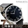ティファニー アトラス ドーム メンズ 腕時計 Z1800.11.10A10A52A TIFFANY&Co. クオーツ ブラック カーフレザー 新品