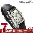 ティファニー ギャラリー 19mm ダイヤモンド レディース 腕時計 Z3000.10.10E21C68A TIFFANY&Co. クオーツ シルバー×ブラック カーフレザー 新品