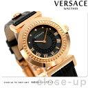 ヴェルサーチ バニティ レディース 腕時計 P5Q80D009S009 VERSACE ブラック×ゴールド