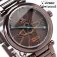 ヴィヴィアン・ウエストウッド 腕時計 レディース 鍵型チャーム ブラウン Vivienne Westwood VV006KBR