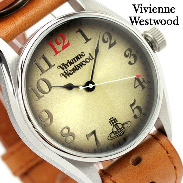 ヴィヴィアン・ウエストウッド 腕時計 HERITAGE Vivienne Westwood メンズ ゴールド VV012TN [新品][1年保証][送料無料]