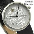ヴィヴィアン・ウエストウッド 腕時計 ネプチューン シルバー×ダークブラウンレザー Vivienne Westwood VV021SLBR