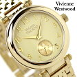 ヴィヴィアン・ウエストウッド 腕時計 レディース プリムローズ ゴールド スモールセコンド Vivienne Westwood VV051CPGD