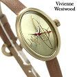 ヴィヴィアン・ウエストウッド 腕時計 レディース ゴールド×ライトブラウン レザーベルト Vivienne Westwood VV056GDBRNC