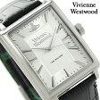 ヴィヴィアン・ウエストウッド クオーツ メンズ 腕時計 VV066SSBK Vivienne Westwood シルバー×ブラック レザーベルト【あす楽対応】