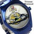 ヴィヴィアン・ウエストウッド 腕時計 レディース シルバー×ネイビー Vivienne Westwood VV072SLNV