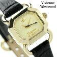 ヴィヴィアン・ウエストウッド レイヴンズコート レディース VV085GDBK Vivienne Westwood 腕時計 クオーツ ゴールド×ブラック レザーベルト