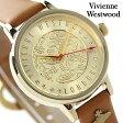 ヴィヴィアン・ウエストウッド オーブ ロンドン レディース VV114GDTN Vivienne Westwood 腕時計 クオーツ ゴールド×キャメル レザーベルト