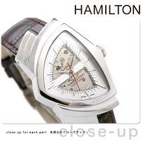HAMILTONハミルトンVENTURAAUTOベンチュラオートメンズ腕時計シルバーH24515551
