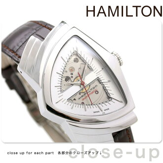 HAMILTON Hamilton VENTURA AUTO ベンチュラオート mens Watch Silver H24515551