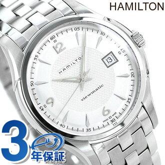 HAMILTON Hamilton JAZZMASTER VIEWMATIC 40 jazzmaster viewmatic 40 mens Watch Silver H32515155