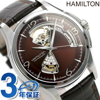 HAMILTON Hamilton Jazzmaster Viematic Openheart jazzmaster viewmatic open heart Brown H32565595
