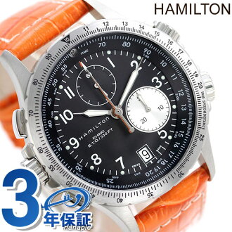 HAMILTON Hamilton Khaki ETO khaki E.T.O leather mens watch H77612933