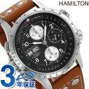 ハミルトン カーキ 腕時計 HAMILTON H77616533 X-ウィンド レザー 時計【あす楽対応】