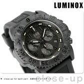 ルミノックス LUMINOX ネイビーシールズ カラーマークシリーズ クロノグラフ ブラックアウト 3081.BO【多針アナログ表示】【あす楽対応】