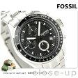 フォッシル FOSSIL メンズ クロノグラフ メタルベルト 腕時計 ブラック CH2600【あす楽対応】