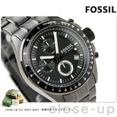 フォッシル FOSSIL メンズ クロノグラフ メタルベルト 腕時計 オールブラック CH2601【あす楽対応】