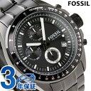 フォッシル FOSSIL メンズ クロノグラフ メタルベルト 腕時計 オールブラック CH2601【...