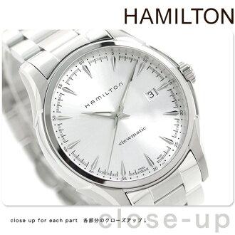 HAMILTON Hamilton Jazzmaster Viewmatic ジャズマスタービューマチックメンズ watch silver metal H32665151