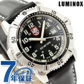 ルミノックス LUMINOX ネイビー シールズ カラーマークシリーズ 腕時計 レディース レザーベルト ブラック 7251【あす楽対応】