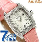 フォリフォリ Folli Follie 腕時計 レディース ジルコニア シルバー×ピンク S922ZI-SLV-PNK【あす楽対応】