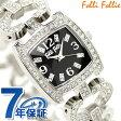 フォリフォリ Folli Follie 腕時計 レディース ジルコニア ブラック WF5T120BPA