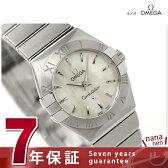 オメガ 腕時計 コンステレーション ブラッシュ クオーツ 24MM レディース ホワイトシェル OMEGA 123.10.24.60.05.001 新品【あす楽対応】