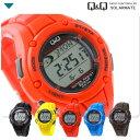 シチズン Q&Q 電波 ソーラー デジタル 腕時計 CITIZEN SOLARMATE MHS6