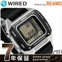 セイコー ワイアード BEAMS デジタルクロノグラフ 42mm AGAM403 SEIKO WIRED 腕時計