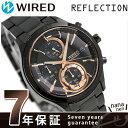 【クオカード プレゼント♪】セイコー ワイアード クリスマス 限定モデル メンズ AGAV800 SEIKO WIRED 腕時計 オールブラック