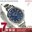 セイコー ワイアード エフ ソーラーコレクション レディース AGED074 SEIKO WIRED f 腕時計 ブルー