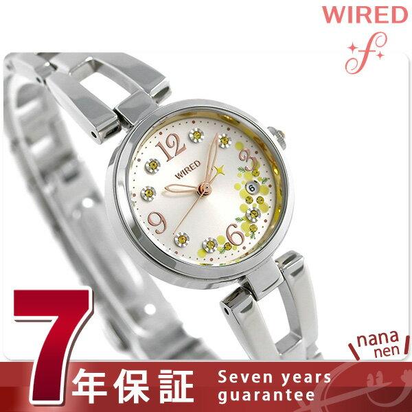 【エントリーでさらにポイント+4倍!21日20時〜26日1時59分まで】 セイコー ワイアード エフ ミモザの日 限定モデル AGEK742 SEIKO WIRED f レディース 腕時計