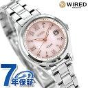セイコー ワイアード エフ SEIKO WIRED f ソーラー レディース 腕時計 AGED105 ピンク 時計【あす楽対応】