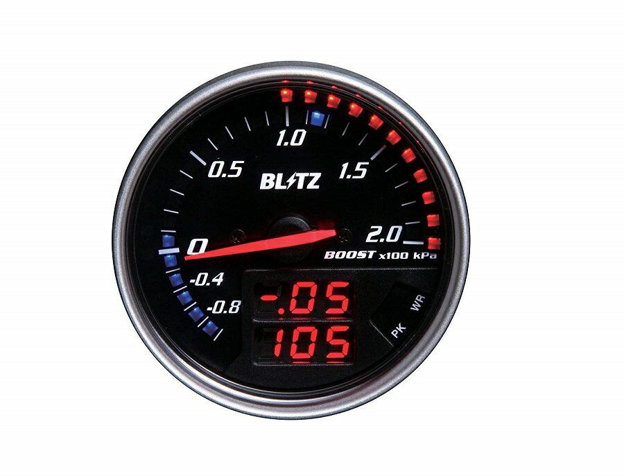 BLITZ/ブリッツ FLDメーター ブースト計(ブーストセンサー付き)商品番号:15201
