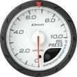 Defi/デフィ ADVANCE CR(アドバンスCR)油圧計/60φ