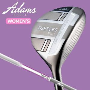 アダムスゴルフ タイトライズ レディース フェアウェイウッド Tight Lies for Women's Co-engineered with MITSUBISHI RAYONカーボンシャフト(日本正規品) 【2014モデル】女性ゴルファー専用の短めシャフト!