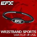 【即納】 EFX パフォーマンス WRISTBAND OVAL(リストバンド オーバル)