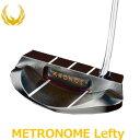 KRONOS GOLF(クロノス ゴルフ) METRONOME Lefty(メトロノーム・レフティ) パター 【左用】 (日本正規品)