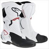 【ALPINESTARS・アルパインスターズ】S-MX6 ブーツ ホワイト/ブラック/レッド
