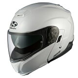 【OGK・オージーケー】IBUKI いぶき システムヘルメット パールホワイト