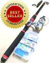 釣り竿/サビキ/サビキセット/釣りセットプロマリン わくわくサビキ釣りセットDX 300cm
